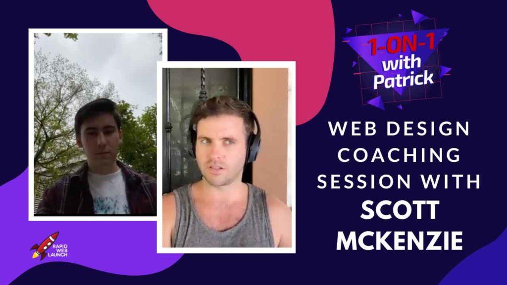 free web design coaching session